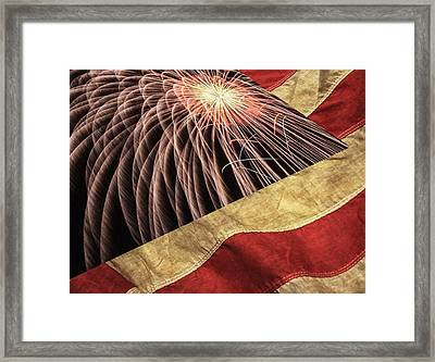 Independence Day  Framed Print by Lanjee Chee