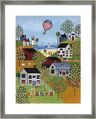 Independence Day Framed Print by Medana Gabbard