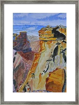 Independence Rock Framed Print by Warren Thompson
