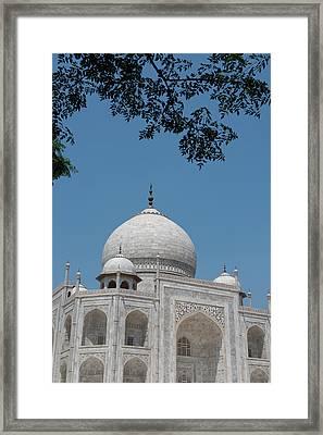 India, Agra, Taj Mahal Framed Print by Cindy Miller Hopkins