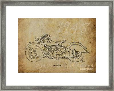 Indian Chief 1948 Framed Print by Pablo Franchi