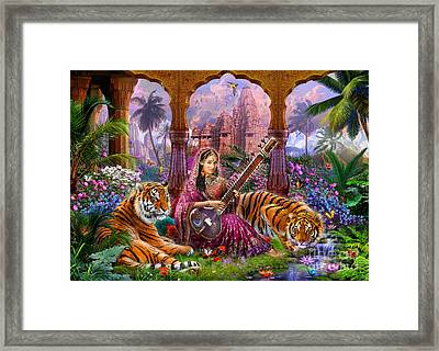 Indian Harmony Framed Print by Jan Patrik Krasny