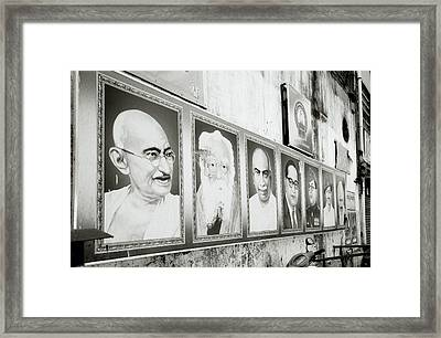 Indian Icons Framed Print by Shaun Higson