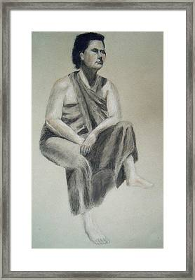 Indian Framed Print by Jessica Sanders