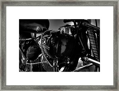 Indian Motorcycle II Framed Print by David Patterson