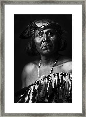 Indian Of North America Circa 1903 Framed Print by Aged Pixel