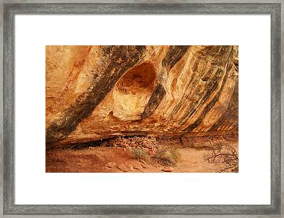 Indian Ruins  Framed Print by Jeff Swan