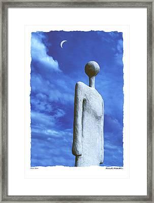 Indian Spirit  Framed Print by Mike McGlothlen