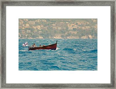 Indian Summer.. Framed Print by A Rey