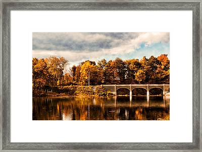 Indian Summer Framed Print by Peter Chilelli