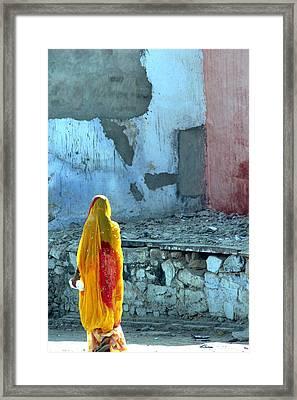 Indian Woman Framed Print by Arie Arik Chen