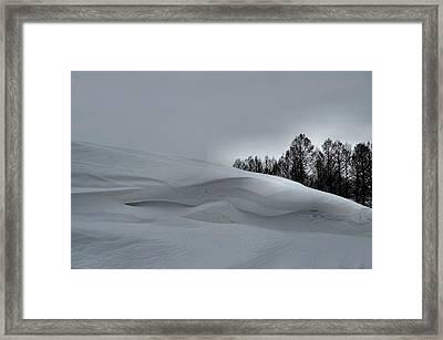 Indiana Drifter Framed Print by Julie Dant