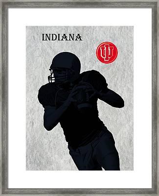Indiana Football Framed Print by David Dehner