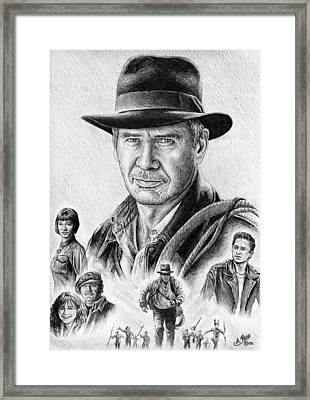 Indiana Jones Framed Print by Andrew Read