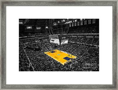 Indiana Pacers Special Framed Print by David Haskett
