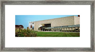 Indiana State Museum, White River State Framed Print by Panoramic Images
