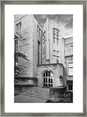 Indiana University Bryan Hall Framed Print by University Icons