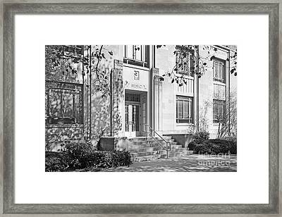 Indiana University Merrill Building Entrance Framed Print by University Icons