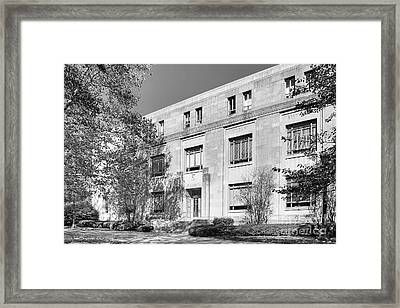 Indiana University Merrill Music Building Framed Print by University Icons