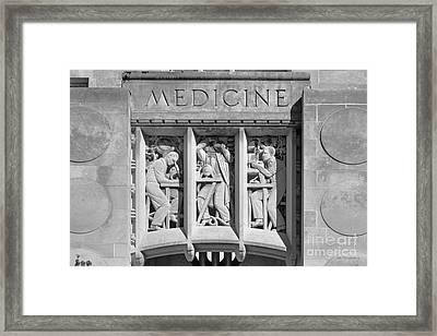 Indiana University Myers Hall Medicine Framed Print by University Icons
