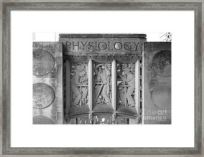 Indiana University Myers Hall Physiology Framed Print by University Icons