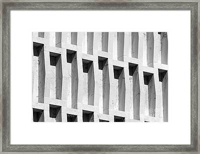 Indiana University Detail  Framed Print by University Icons