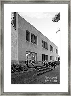 Indiana University  Framed Print by University Icons