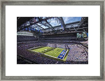 Indianapolis Colts 3 Framed Print by David Haskett