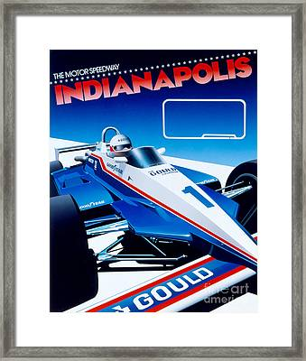 Indianapolis Framed Print by Gavin Macloud