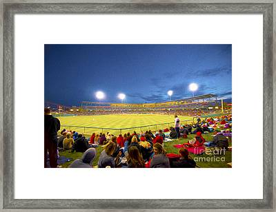 Indianapolis Indians Framed Print by David Haskett