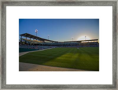 Indianapolis Indians Victory Field 4593 Framed Print by David Haskett