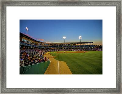 Indianapolis Indians Victory Field 4676 Framed Print by David Haskett