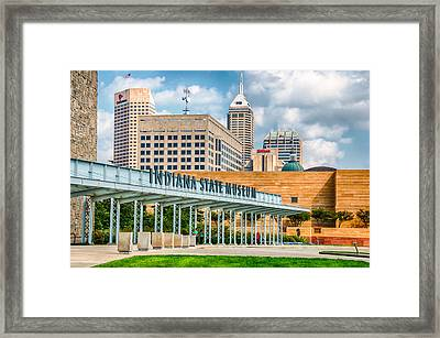 Indianapolis State Museum Framed Print by Gene Sherrill