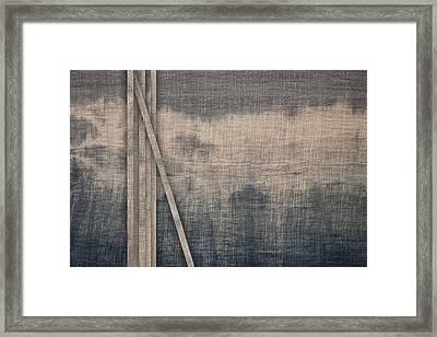Indigo Crossing 1 Framed Print by Carol Leigh