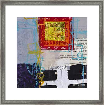 Indirect Object Framed Print by Elena Nosyreva