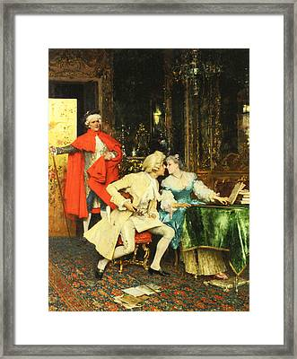 Indiscretion Framed Print by Federico Andreotti