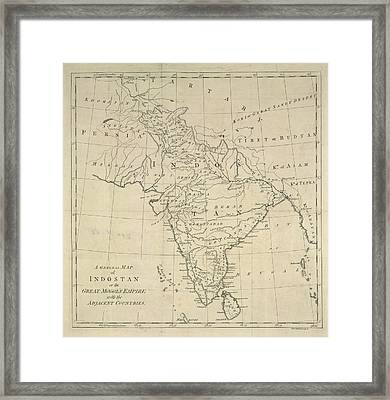 Indostan Framed Print by British Library