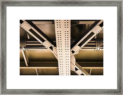 Industrial Metal Framed Print by Alexander Senin