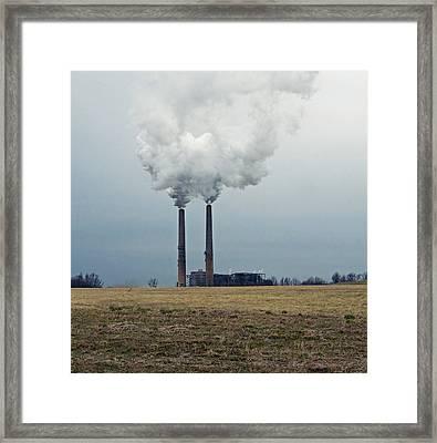 Industry Framed Print by Steven  Michael