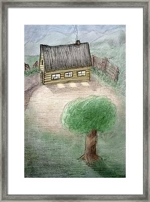 Infantile Dream Framed Print by Carlos Vieira