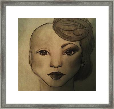 Infinite Beauty Framed Print by Megan Jenkins