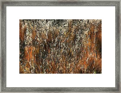 Infinite Meadows Framed Print by Ayse Deniz