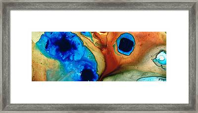 Infinity Of Life Framed Print by Sharon Cummings