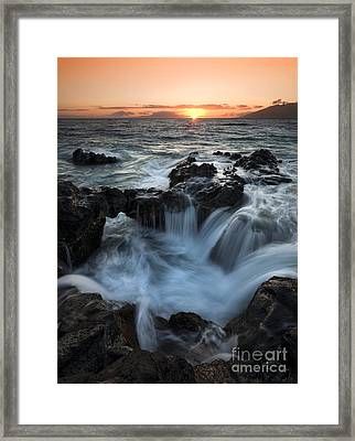 Influx Framed Print by Mike  Dawson