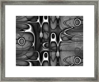 Infrastructure Framed Print by Kiki Art