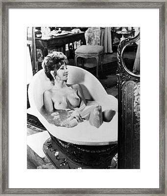 Ingrid Pitt In Countess Dracula  Framed Print by Silver Screen
