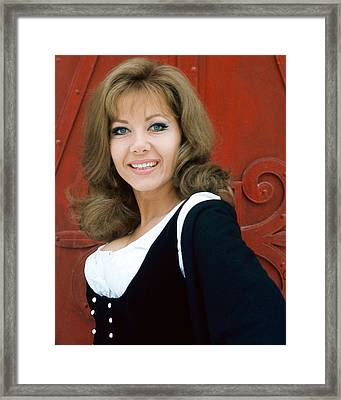 Ingrid Pitt In Where Eagles Dare  Framed Print by Silver Screen