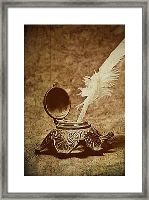 Inkwell II Framed Print by Tom Mc Nemar