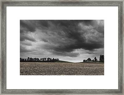 Inland Framed Print by Ryan Manuel