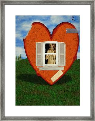 Inner Beauty Framed Print by Jeff Kolker